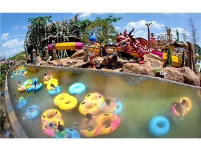 亚洲顶级水上乐园—— 丽水冒险岛水世界欢乐1日游